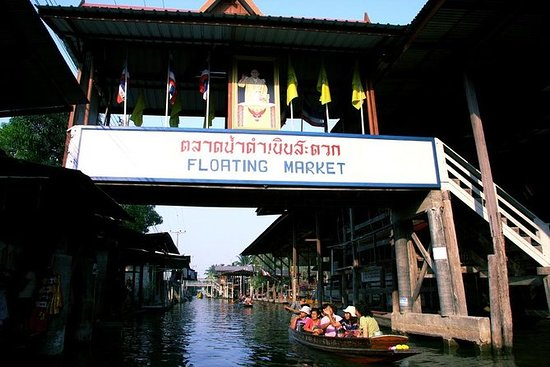 Halve dag Join Maeklong Railway Market ...
