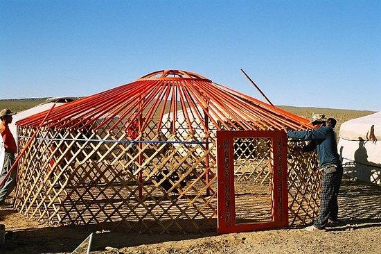 Unik livsstil i Mongolia