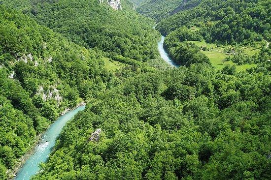 Cânion Moraca - Tara Canyon - Lago...