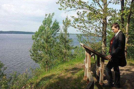 A hike in Kaunas reservoir regional...
