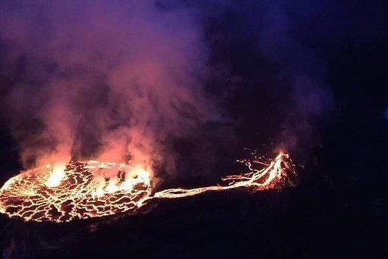 2 días de caminata en el volcán...