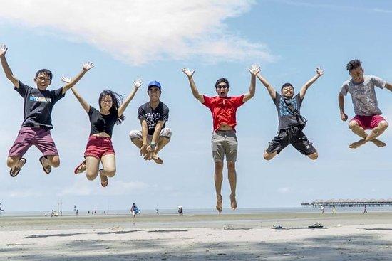 Excursion sur la plage Bagan Lalang...