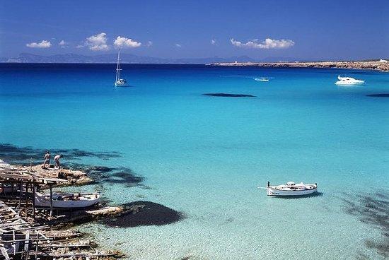 Dagcatamarancruise naar het strand ...