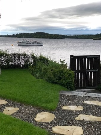 A beautiful suite with stunning views over the loch