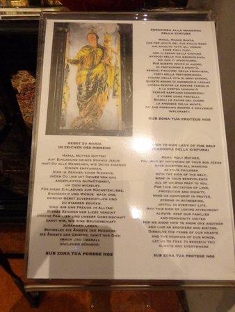 Madonna della Cintura.