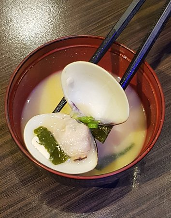 日式海鮮麵豉湯