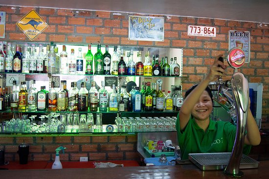 Our nice bar