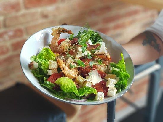 Scandi Restaurant: Sałatka Cezar tym razem w opcji z krewetkami
