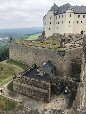 Koenigstein Fortress: Festungseingang