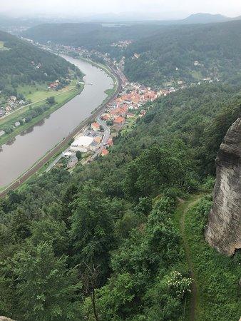 Aussicht auf Königstein