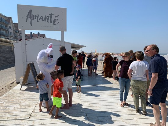 Plage d'Amante: fun at Amante for Easter