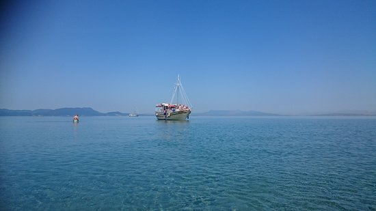 Captain Homer's Boat Trips: Arrêt les pieds dans l'eau
