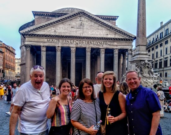 Rome Small Group Food Experience | with Private Option: Along our tour between delicious treats!