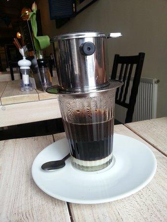 Coco Saigon: Echte Vietnamese koffie.