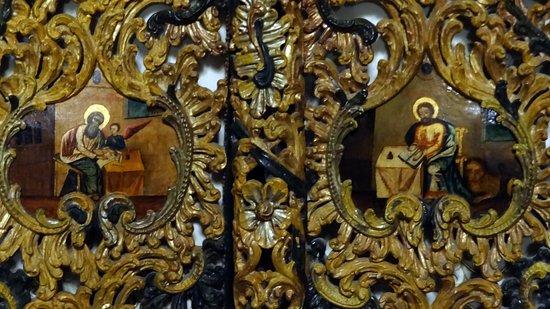 Dragomirna Monastery: Interno chiesa