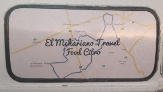 Nuestro Citro Food Copito de nieve y el recorrido del Raid hasta Las Marianas.
