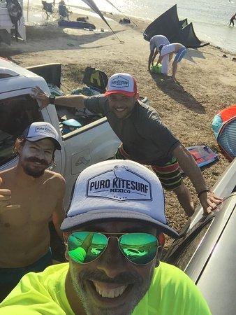 Puro Kitesurf Mexico : El Equipo