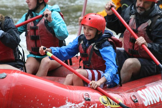 Upper Pigeon River Rafting Trip from Hartford: Excitement!