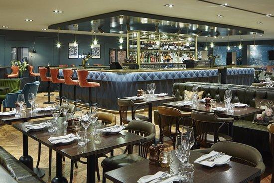 Manchester Airport Marriott Hotel: Restaurant