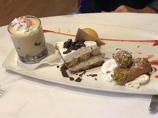 Il fornaio dessert trio