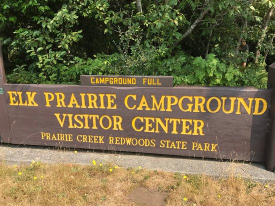 Orick, Kalifornia: Prairie Creek Visitor Center