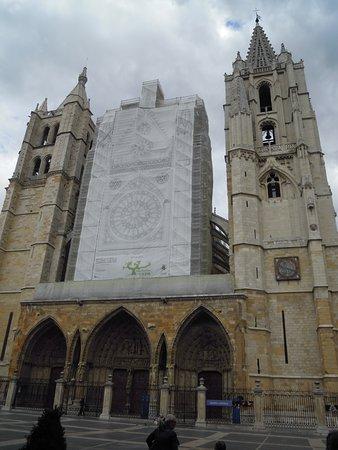 Λεόν, Ισπανία: Fachada principal Catedral
