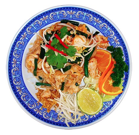 Padthai - Nudeln mit Shrimps und Huhn Menu Nr. 74