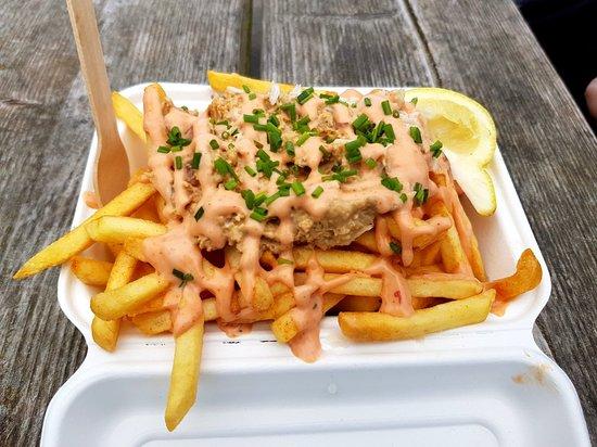 Gorgeous crabbie fries