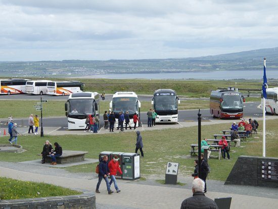 Skip the Line: Cliffs of Moher Admission Ticket: Parking at Cliff of Moher