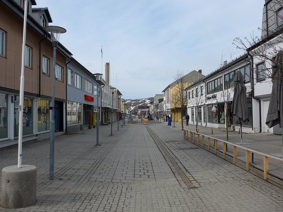 Center of Kirkenes