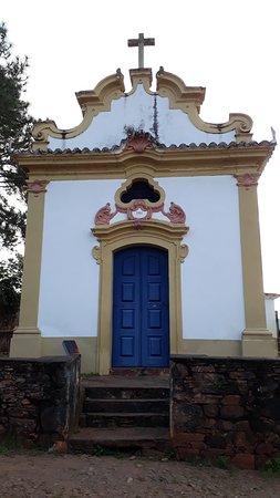Fachada frontal da Capela de Nossa Senhora do Pilar