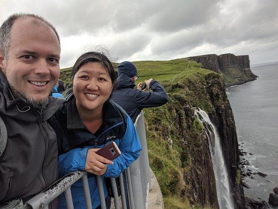 Real Scottish Journeys - Day Tours: Kit Rock, Mealt Falls