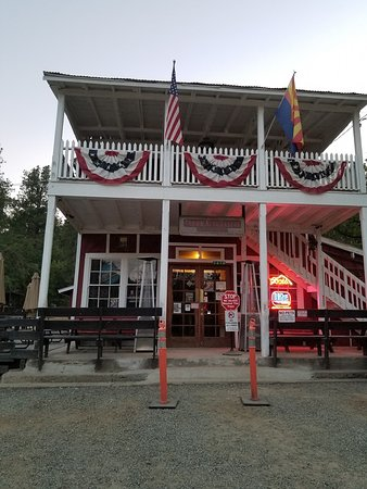 Crown King Saloon: The place to be