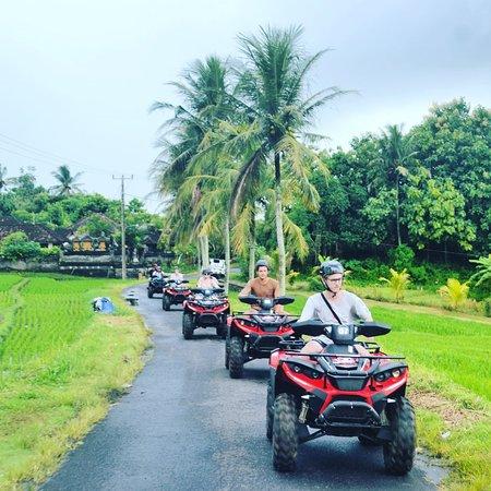 Tegal Mengkeb, Indonesia: #atvonthebeach #ozzybaliadventure