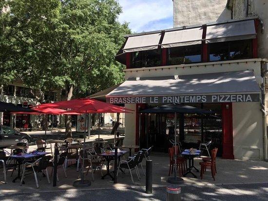 Brasserie Le Printemps Nimes Restaurant Reviews Photos