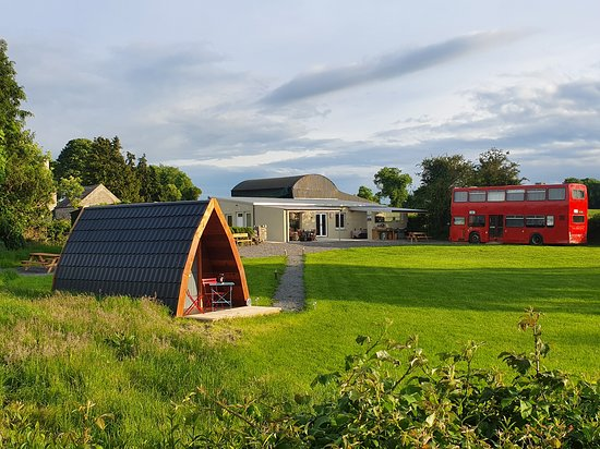 Glasson, Irlanda: Our glamping garden