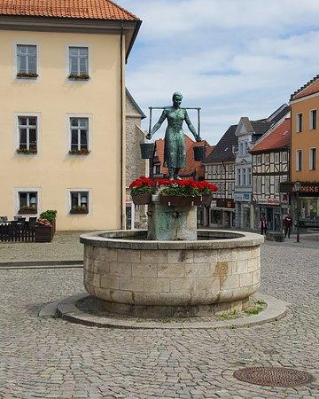Wassermaid-Brunnen