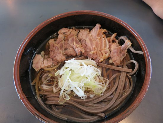 Zabun Meat Buckwheat Bird Chinese: 冷たい鳥蕎麦