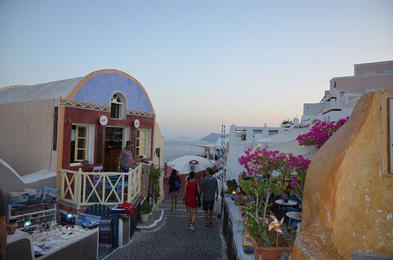 Podvečer na Santorini - Oia
