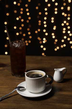 Savoor - The House of Panini: Iced and Hot Americano