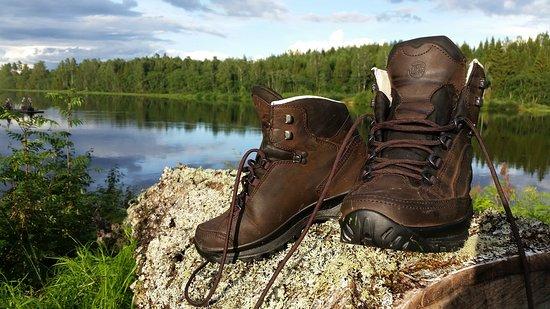 Dalarna, Suecia: Hiking boots