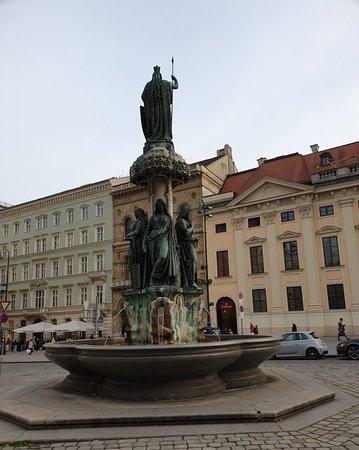 Austriabrunnen: Fountain