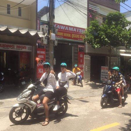 Cho Thuê Xe Máy Quang Nga