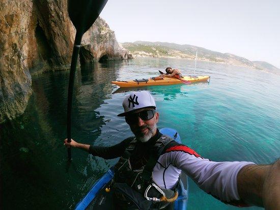 exploring hidden caves