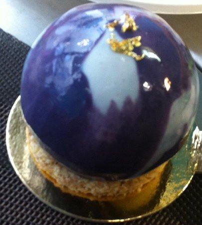 Téa : création à la vanille, au cassis et à la violette