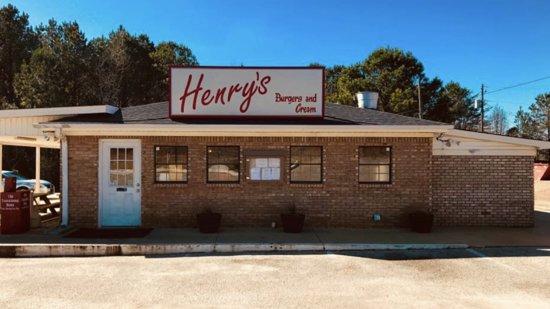 Brookwood, ألاباما: Henry's Burgers & Cream