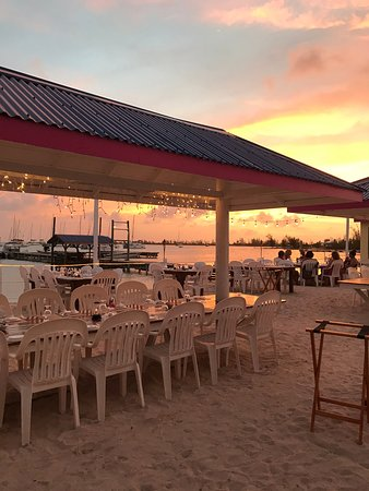 Anegada Reef Hotel: Order dinner before you go off for the day, then return for a sunset cocktail before you dine.
