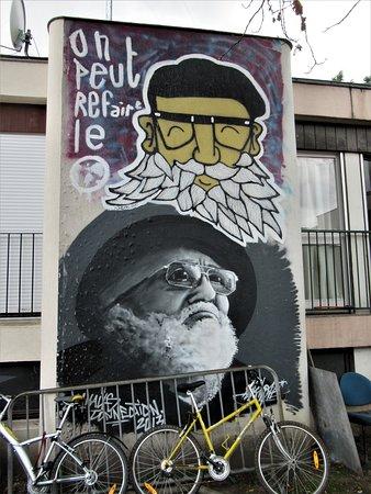 Neuilly-Plaisance, Fransa: La fresque