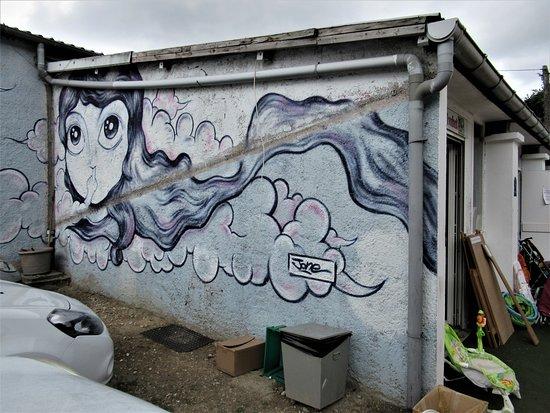 "Fresque ""Abbé Road"" - Jone"