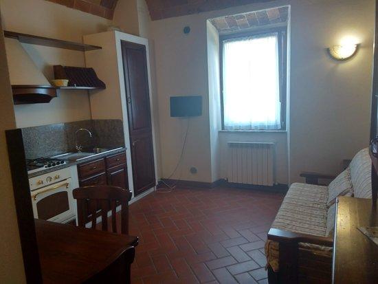 Roccatederighi, Italy: kuchnia